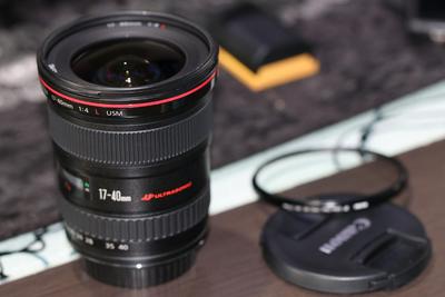 佳能17-40mm f/4L USM99.9999新,刚买15天京东自营4099,点开看图