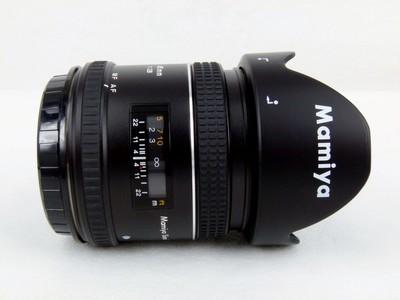 包装齐全的玛米亚利图 MAMIYA SEKOR AF 45mm f/2.8 D