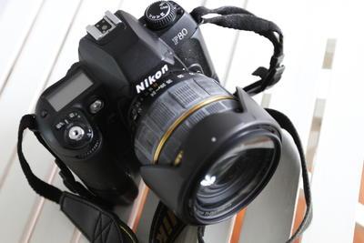 低价转让尼康F80胶片机+腾龙24-135镜头