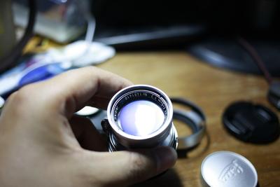 徕卡Summicron-L39 50/2缩头 极品镀膜