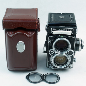 禄来 Rolleiflex 2.8F Planar +皮套