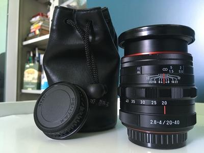 宾得 HD PENTAX-DA 20-40mm f/2.8-4 ED Limited WR