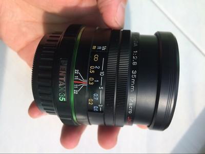 宾得 DA 35mm f/2.8 Macro Limited