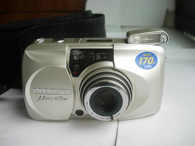 很新少见奥林巴斯u2--170自动对焦旁轴相机,u2系列,送皮套挂绳