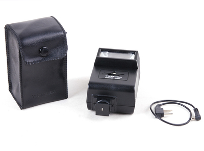 Toshiba/东芝 QCC-25L 外置闪光灯 带皮套 #17379