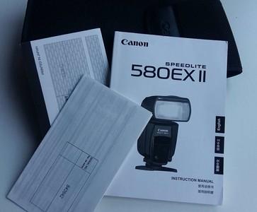 99新正品行货 佳能 580EX II 闪光灯完美如新 !
