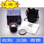 CONTAX 康泰时 ZEISS 蔡司 50/1.4 59号段 带包装美品 CY口