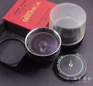 BRONICA 勃朗尼卡 S2用 50/3.5 50mm F3.5 NIKON 97新 带遮光罩