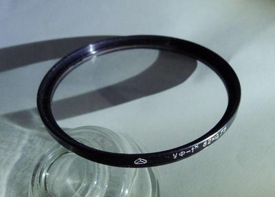 一片俄罗斯82mmUV镜没镀膜(光学玻璃的)