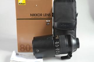 98新 尼康 AF-S Nikkor 80-400mm f/4.5-5.6G ED VR