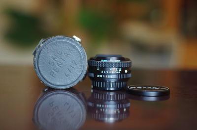 全套佳品收藏:宾得K17/4 鱼眼及超广角镜头 自带4滤镜