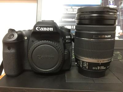 99新,佳能 80D 佳能镜头EFS18-200mm