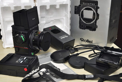 全德产 带包装 120单反机6x6 禄莱 6008+80/2.8 套机 福润相机