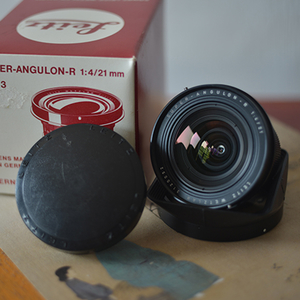 Leitz Wetzlar Super-Angulon-R 21 mm f/ 4 徕卡r21 f4