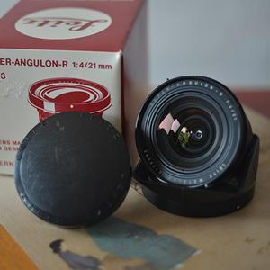 Leitz Wetzlar Super-Angulon-R 21 mm f/ 4 徕卡r21 f4