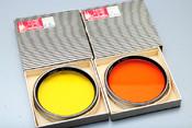 林哈夫 Linhof 滤镜 橙镜 80mm 橙色UV镜
