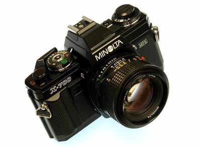 Minolta X-700  50/1.4 套机(日原产)