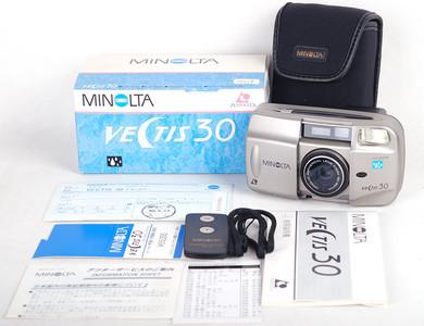 【库存新品】Minolta/美能达 Vectis 30 钛色胶片相机#jp17519