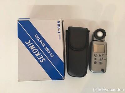 Sekonic(世光)L-358测光表,99新,包装配件齐全