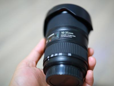 佳能 EF 16-35mm f/4L IS USM 国行99新再送B+W(个人 )
