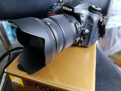 尼康 D7200(已出),出适马17-50镜头