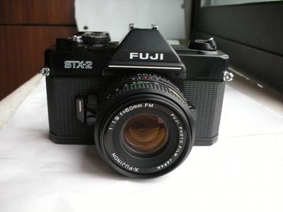 极新富士STX--2机械快门单反相机带50mmf1.9镜头