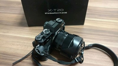 富士X-T20 + 18-55黑色套机