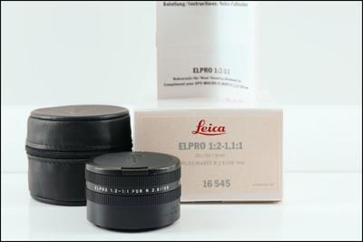 徕卡 Leica R ELPRO 100/2.8 Macro用近摄镜片 1:1 16545 带包装