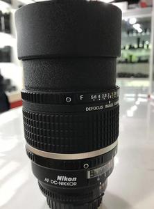尼康135/2D 柔焦 镜头 镜头功能一切正常