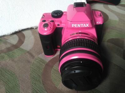 宾得 K-r单反相机KR 粉色 女生一手自用成色很新  带镜头8G卡