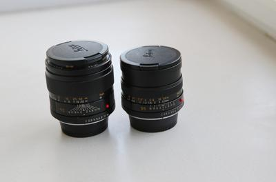 Leica Summicron-R 90 mm f/ 2和徕卡R35 F2