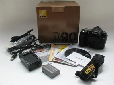 好成色尼康D90单机(可配18-105等单机实价1100原电原充带包装6209