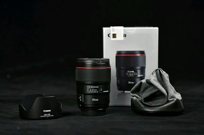 [求购]佳能 EF 35mm f/1.4L II USM,  全网最高价9800收购