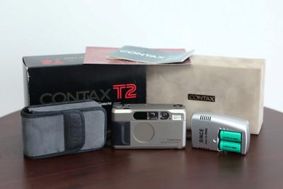 康泰时CONTAX T2 胶片相机 含包装