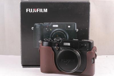 99/富士 X100T 数码相机 ( 带遮光罩 送原装皮套 带包装 )
