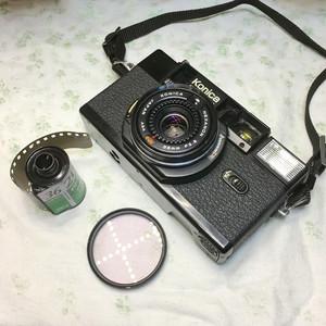 Roc___199元 柯尼卡 C35 AF2 135胶片定焦旁轴相机