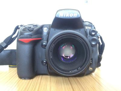 尼康 D700 可带50mmf1.8镜头和24-120mmf3.5镜头