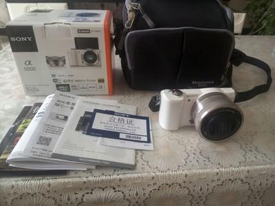 索尼(SONY)ILCE-5000L APS-C微单单镜套机 白色
