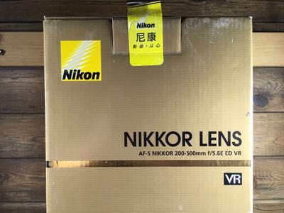 尼康 AF-S Nikkor 200-500mm f/5.6E ED VR
