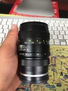 二手中一光学35mm F2.0 35/2 全画幅广角大光圈旅游人文索尼E口
