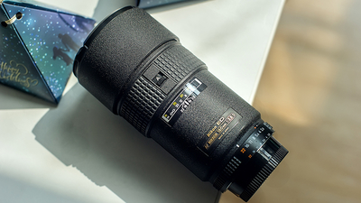 尼康 AF 180mm f/2.8D IF-ED 全画幅远摄人像扫街定焦镜头 99新