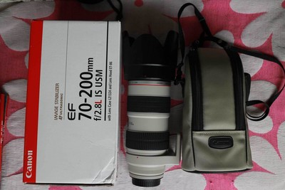 佳能 EF 70-200mm f/2.8L IS USM(小白IS) 96新,成色新净。