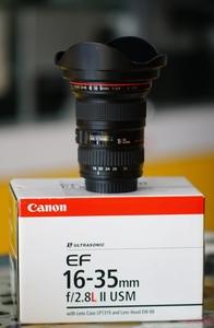 98新,佳能 EF 16-35mm f/2.8L II USM