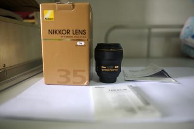 尼康 AF-S Nikkor 35mm f/1.4G  国行98新