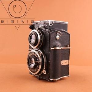 镜间名录   福伦达Superb 双反 Heilar 75/3.5 头 胶片相机 W-03