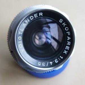 Voigtlander Skoparex 福伦达 珠戒 35mm f3.4