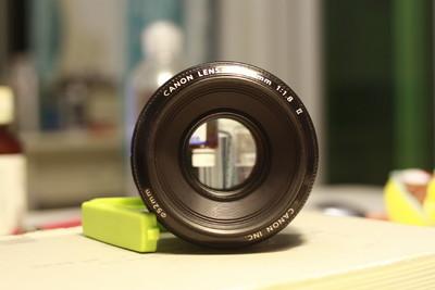 佳能 EF 50mm f/1.8 II深圳本地出,要的自取