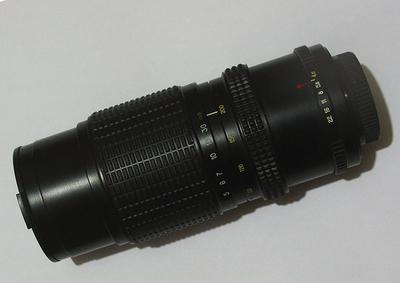 俄80-200/4.5 恒定变焦头