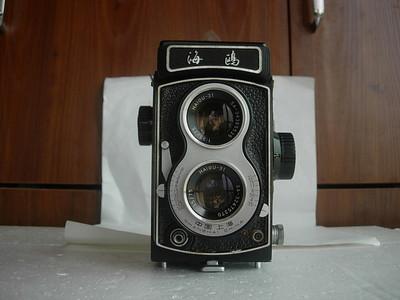 很新海鸥4B双反相机,老版白脸,收藏使用