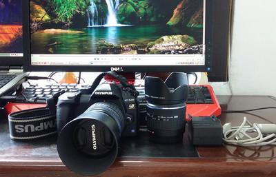 出95新奥林巴斯数码单反相机E520双镜头套机14-42.40-150非微单